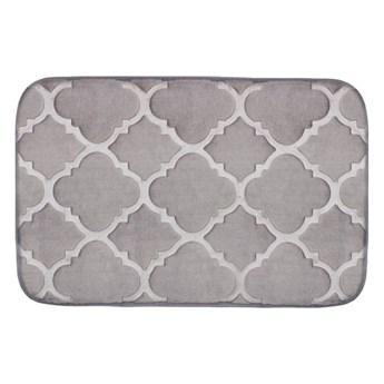 Dywanik łazienkowy Mosaic Szary 38 X 58 Domarex