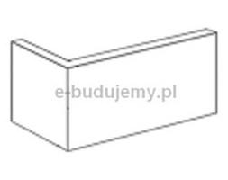 INCANA Narożnik zewnętrzny Arnhem Rosso 8x19x6cm