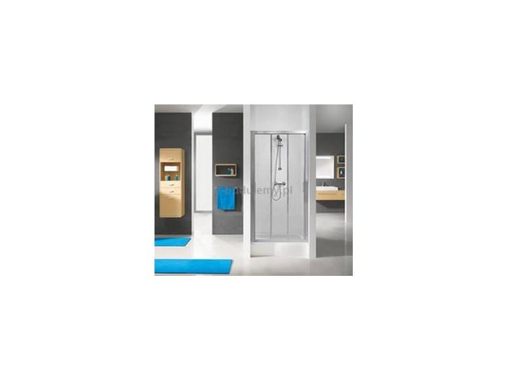 Sanplast Drzwi Przesuwne Dtraspii 75 S Sbcc Aspira Ii 600 032 1110 38 471 Profil Srebrny Błyszczący Wypełnienie Cincila Wymiary 75x190 Cm