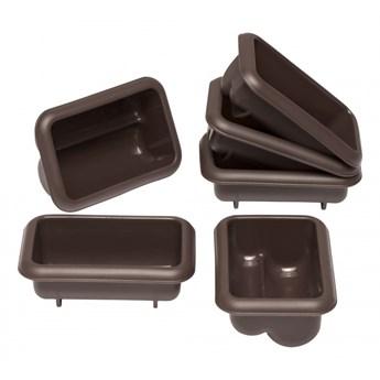 6 foremek na mini-strucle, 9 x 5,5 x 4 cm kod: LU-00085077