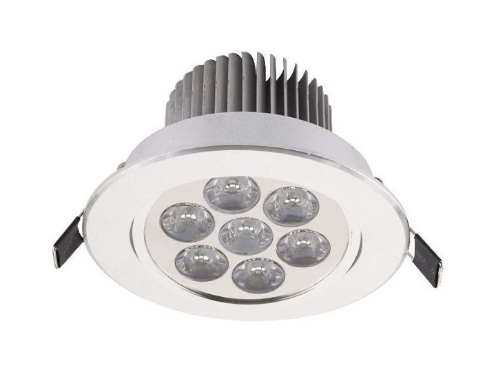 Oczko DOWNLIGHT LED SILVER 7W srebrny 4000K