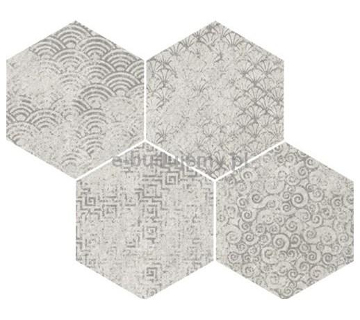 Vives Bys sp Blanco 35x28cm heksagonalna  Płytki   -> Kuchnia Plytki Vives