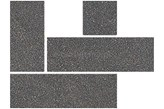 NOWA GALA Narożnik TREND STONE L-07N-TS13 ciemny szary 10x10cm natura - dodatkowy rabat
