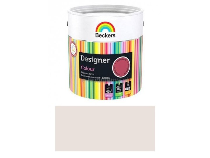 Beckers Designer Colour Wodorozcieńczalna Farba Lateksowa Vanilla Cream Mat 25l Odbiór Osobisty Lublin