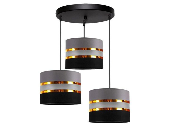 Żyrandol na lince CORAL 3xE27/60W/230V czarno-szary Kategoria Lampy wiszące
