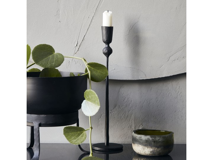 ŚWIECZNIK TRIVO BLACK HOUSE DOCTOR Kolor Czarny Metal Żelazo Kategoria Świeczniki i świece