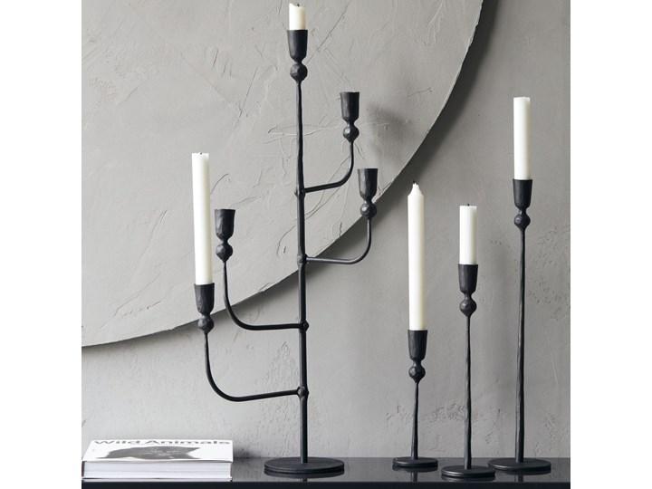ŚWIECZNIK TRIVO BLACK HOUSE DOCTOR Żelazo Kolor Czarny Metal Kategoria Świeczniki i świece