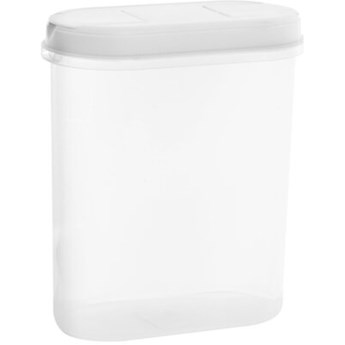 Pojemnik plastikowy PLAST TEAM Margerit 11260800 2.4 L Biały