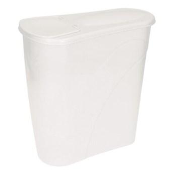 Pojemnik plastikowy PLAST TEAM 35600800 3.5 L Biały