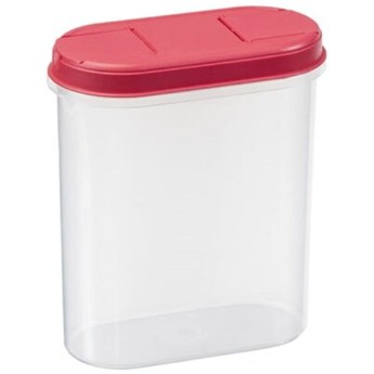 Pojemnik plastikowy PLAST TEAM Margerit 11260809 2.4 L Czerwony