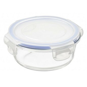 Pojemnik szklany PLAST TEAM Lyngby 53300802 0.4 L Przezroczysty