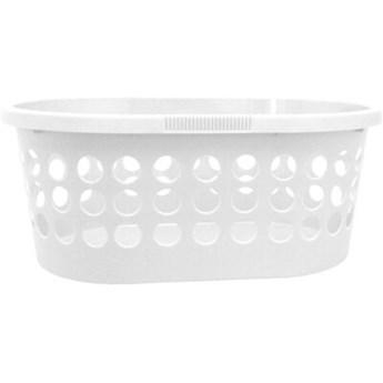Kosz na pranie PLAST TEAM Springfield 60070800 30L Biały