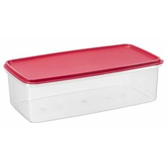 Pojemnik plastikowy PLAST TEAM Margerit 36290802 6 L Czerwony