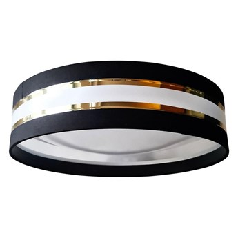LED Plafon CORAL GOLD 1xLED/20W/230V czarny/złoty