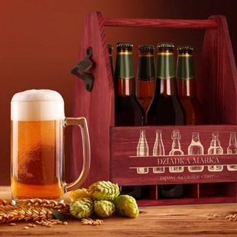Personalizowane Nosidło Na Piwo Z Otwieraczem Dla Dziadka