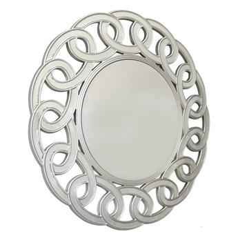 Lustro w lustrzanej ramie Avola srebrne