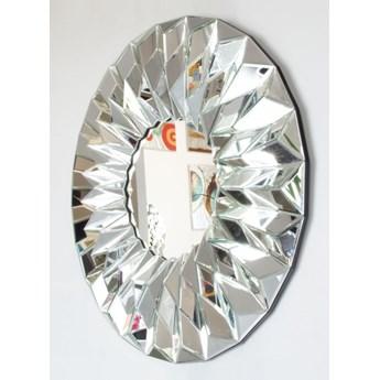 Lustro  okrągłe w lustrzanej  ramie Hecate 100'
