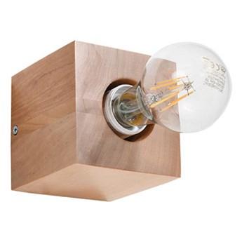 Drewniany kwadratowy kinkiet - EX639-Abes