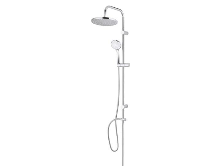 Kolumna prysznicowa GoodHome Cavally chrom Wyposażenie Z słuchawką Wyposażenie Z deszczownicą