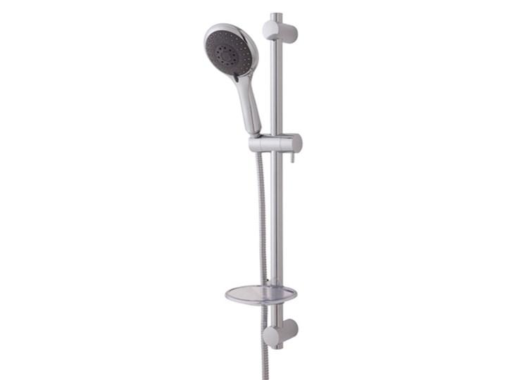 Zestaw prysznicowy Bilis 4-funkcyjny chrom Wyposażenie Z wężem