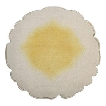 Poduszka do prania w pralce średnica 40 cm Tie-Dye Yellow Blue Lorena Canals