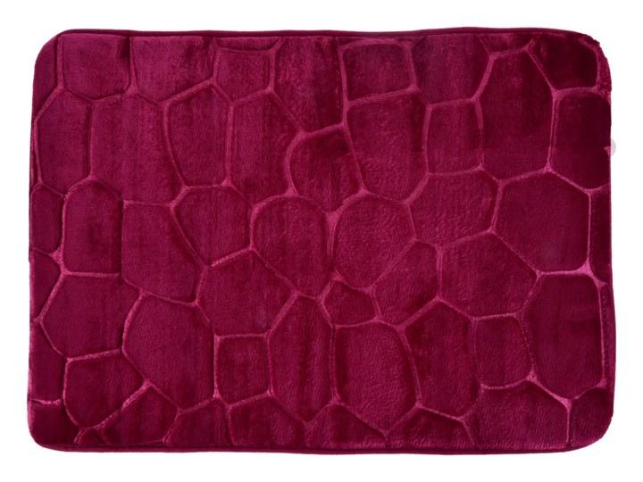 Dywanik łazienkowy 70 x 45 cm bordowy