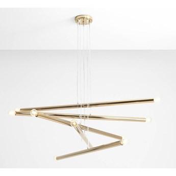 Designerska lampa wisząca Fabius 5  Czarny