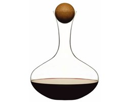 Karafka do wina z dębowym korkiem