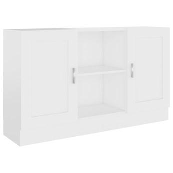 vidaXL Szafka, biała, 120 x 30,5 x 70 cm, płyta wiórowa