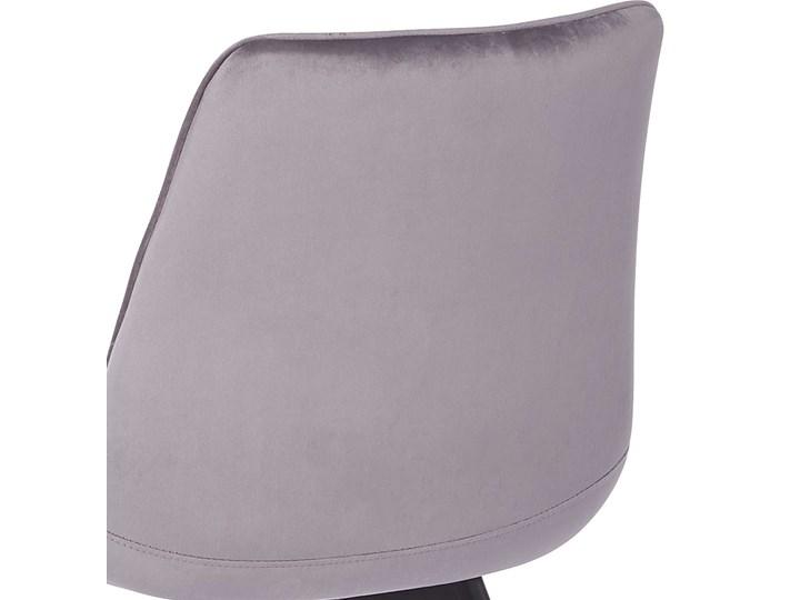 KRZESŁO TAPICEROWANE DC-7020 JASNY SZARY WELUR Tkanina Tworzywo sztuczne Metal Styl Nowoczesny Kategoria Krzesła kuchenne