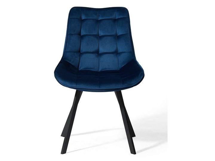 KRZESŁO TAPICEROWANE DC-6030 NIEBIESKI WELUR Kategoria Krzesła kuchenne