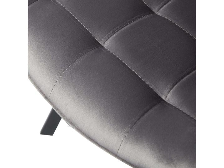KRZESŁO TAPICEROWANE DC-6030 JASNY SZARY WELUR Kategoria Krzesła kuchenne