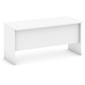 Biurko proste, długość 1600 mm, biały