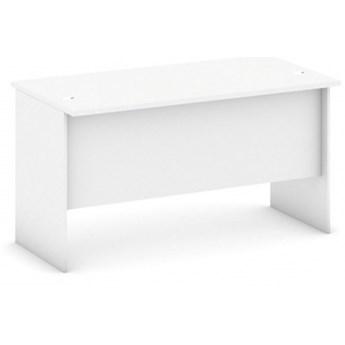 Biurko proste, długość 1400 mm, biały