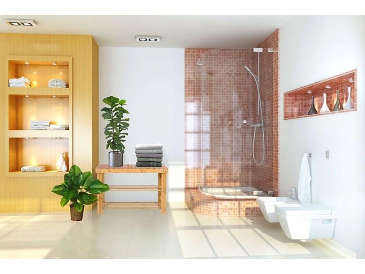 Ławka bambusowa z półkami na buty MILOS Pomieszczenie Sypialnia
