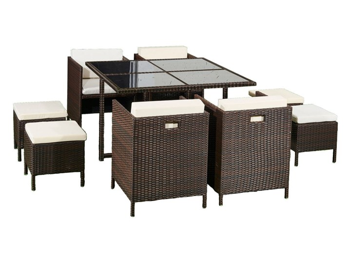 Technorattanowe meble stołowe CRISTALLO
