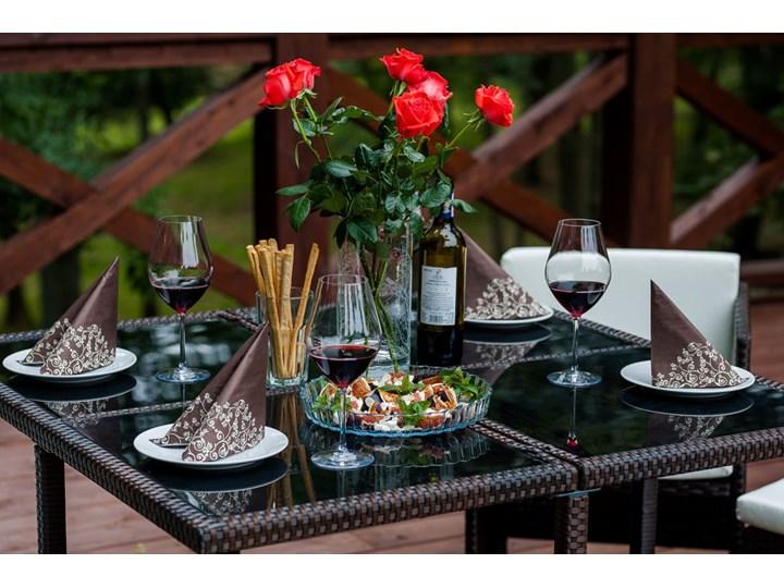 Technorattanowe meble stołowe CRISTALLO Stoły z krzesłami Zawartość zestawu Puf Zestawy obiadowe Zawartość zestawu Fotele