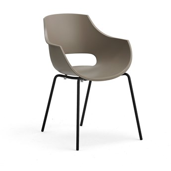 Krzesło RIVER, szary