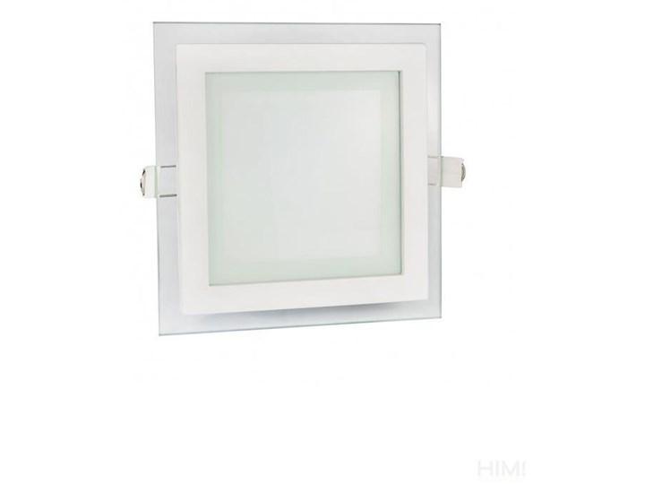FIALE ECO LED SQUARE 230V 6W IP20 CW SUFITOWE oczko szklane