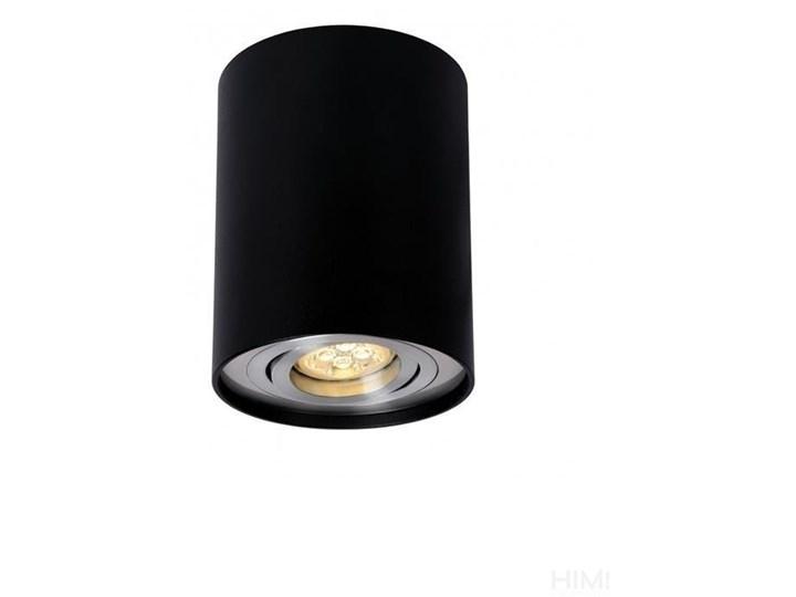 CHLOE GU10 IP20 okrągła czarna ruchoma