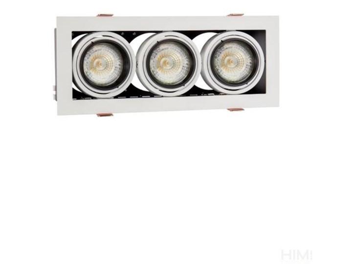 MODERN DAY MINI GU10 x3 white frame