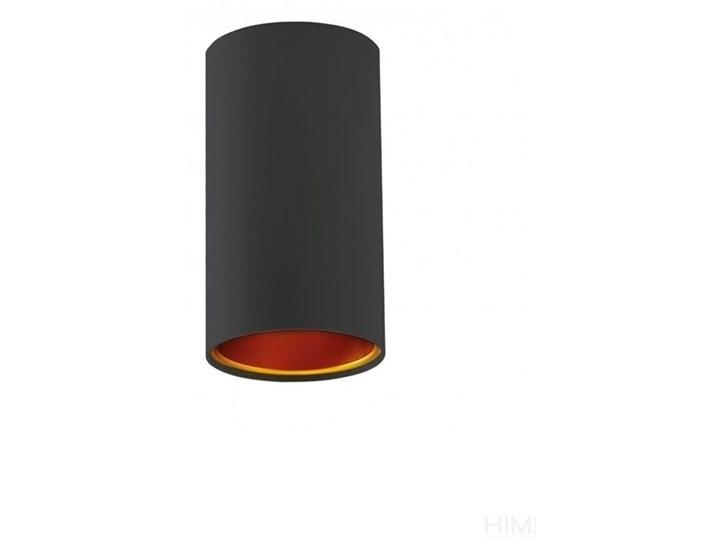 CHLOE GU10 IP20 tuba czarna złota nieruchoma