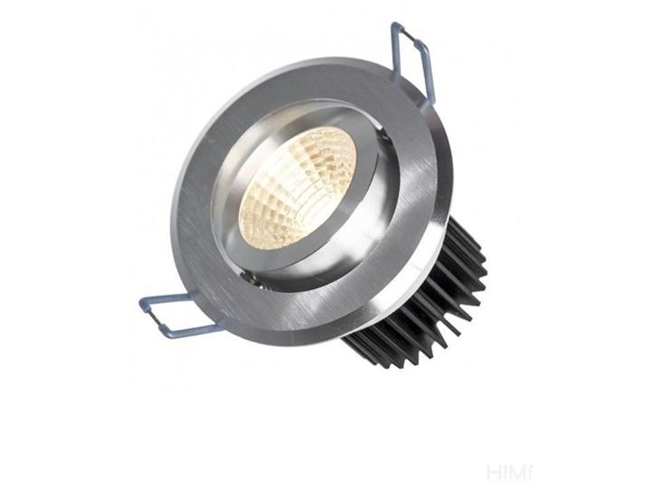 FIALE II 6W COB 38st 230V NW OCZKO LED pierścień szczotkowane aluminium