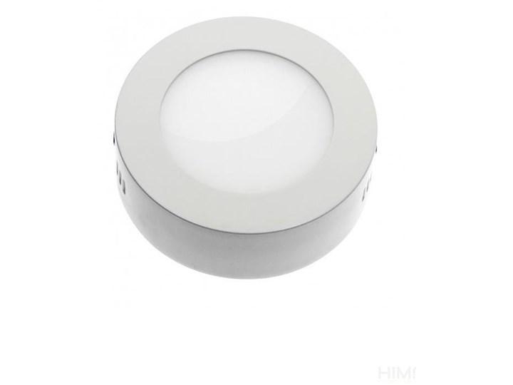 ALGINE ECO LED ROUND 230V 6W IP20 CW SUFITOWE biała ramka NATYNKOWA &