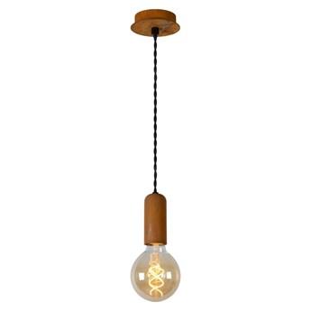 Lucide 30490/01/97 - Lampa wisząca DROOPY 1xE27/60W/230V brązowy