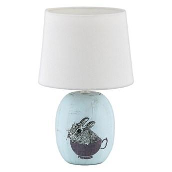 Rabalux 4603 - Lampa stołowa dziecięca DORKA 1xE14/40W/230V niebieski