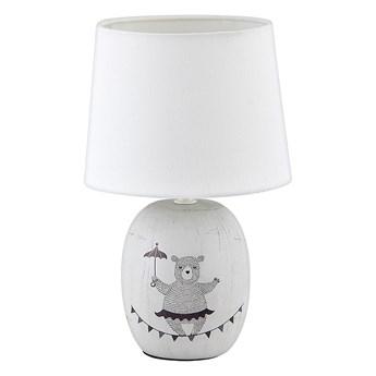 Rabalux 4607 - Lampa stołowa dziecięca DORKA 1xE14/40W/230V szary