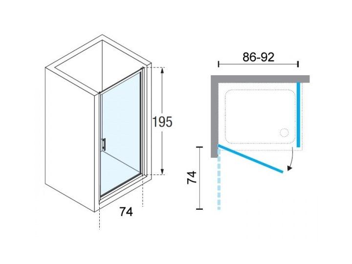 Novellini Zephyros G+F kabina prysznicowa kwadratowa 90 cm czarny mat ZEPHYRG861H+ZEPHYRF881H Kategoria Kabiny prysznicowe