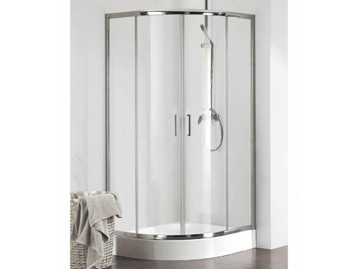Kermi Cada XS kabina prysznicowa półokrągła 90 cm CKT5509020VPK Wysokość 200 cm Narożna Przyścienna Rodzaj drzwi Rozsuwane