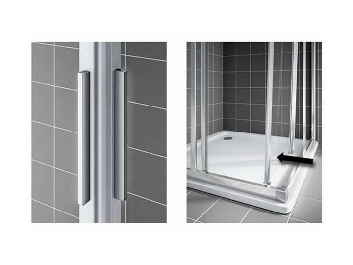 Kermi Cada XS kabina prysznicowa kwadratowa 100 cm CKE2R10020VPK+CKE2L10020VPK Przyścienna Kategoria Kabiny prysznicowe